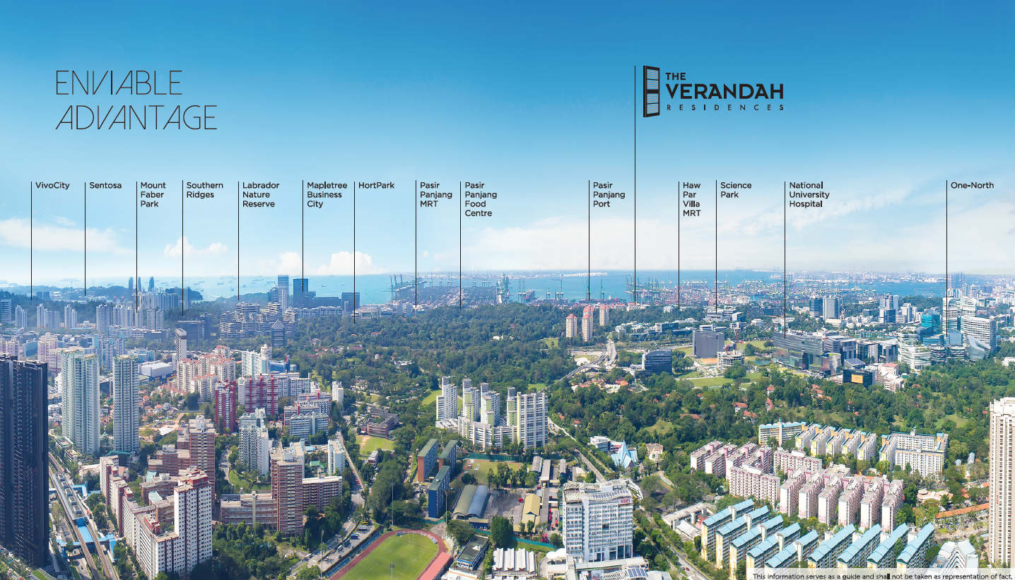 The Verandah Residences Condo Pano View