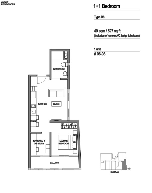 Avant Residences floor plan 3