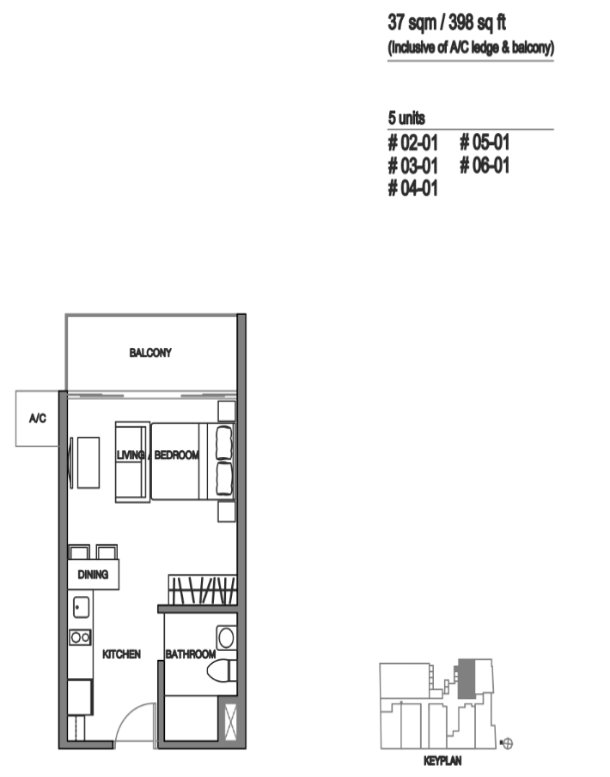 Avant Residences floor plan