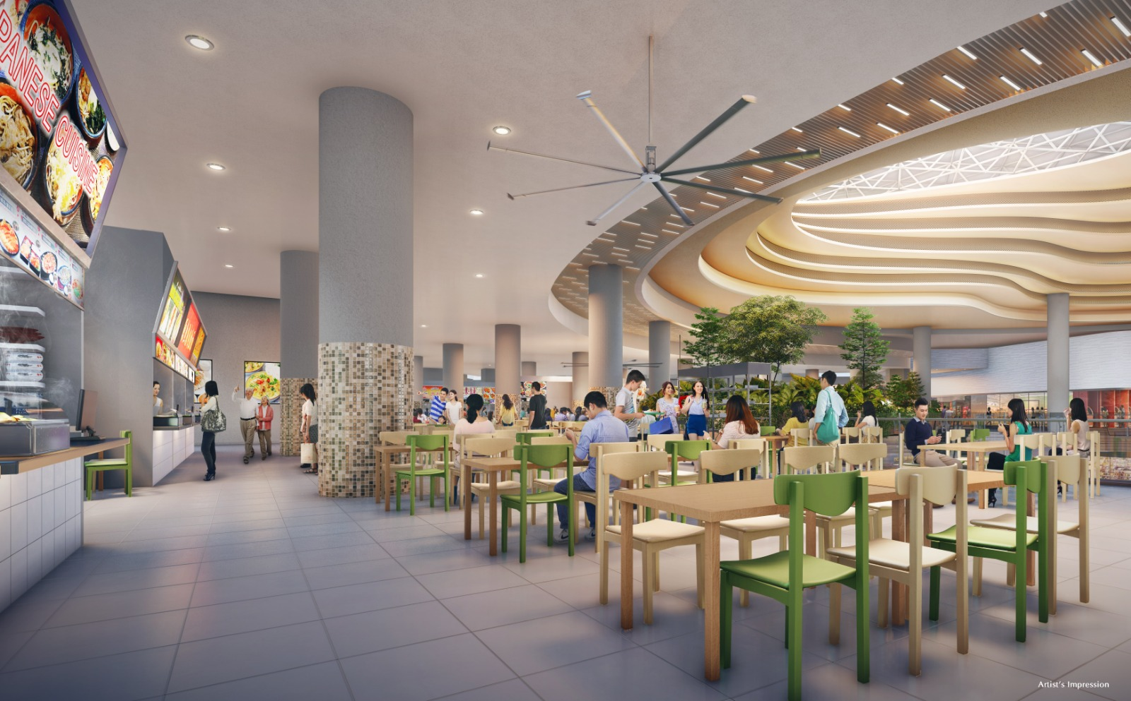 Sengkang Grand Residences Hawker Centre