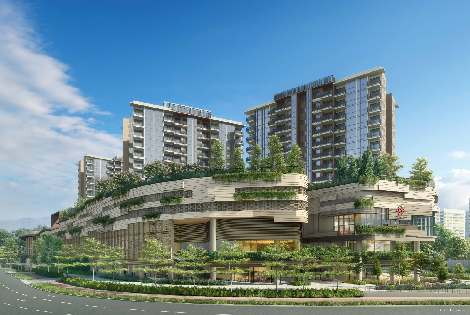 Sengkang Grand Residences floorplan