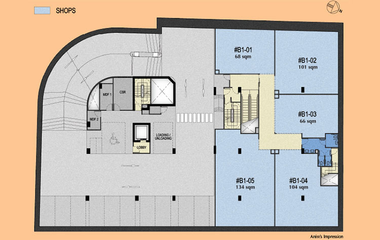 183 Longhaus Commercial Retail floor plan