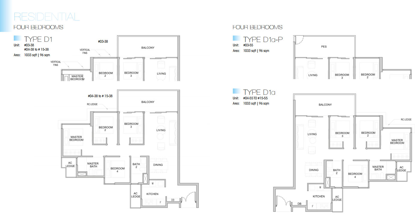 Kingsford Waterbay floor plan 4br