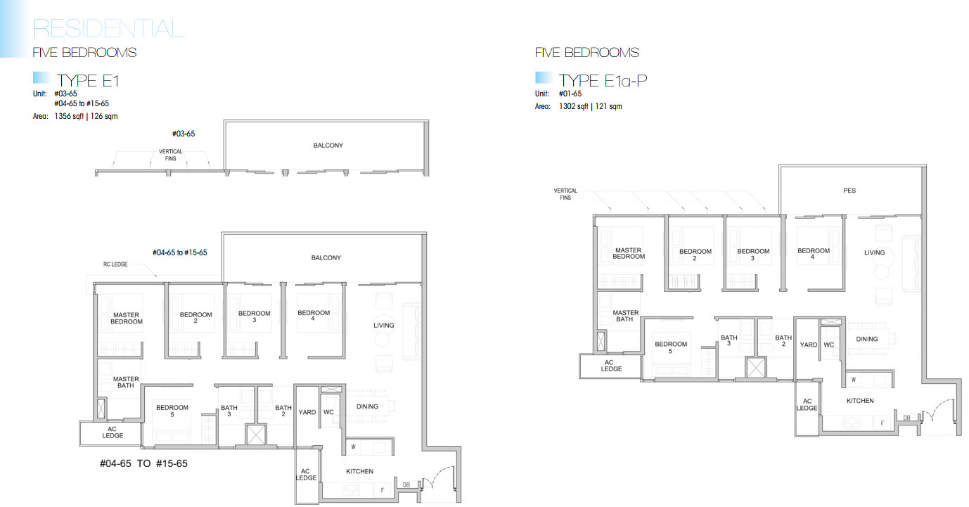 Kingsford Waterbay floor plan 5br